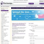 The Book Depository 10% off - Spread The Love, Refer a Friend