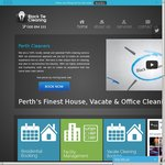 20% off All Home Cleaning (Including Vacate Cleans) for Perth Metro Area