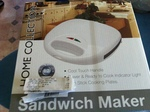 Home Collection Sandwich Maker for $5, Was $16 at Woolworths