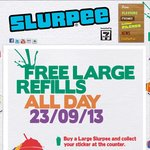 7-Eleven Buy a Large Slurpee and Get Unlimted Refills for The Day - 23/9