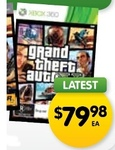 Grand Theft Auto V - X360/PS3 - $69.98 with Preorder from Dick Smith