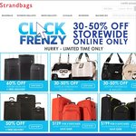 Strandbags ClickFrenzy 30-50% off, Free Pickup from Store