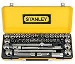 """Stanley Socket Set - 40 Piece, 1/2"""" Drive, Metric & Imperial $77.99 @ SCA (Save $52)"""
