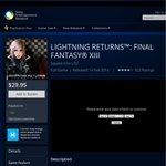 PSN AU - Lightning Returns: Final Fantasy XIII - $29.95