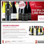 12 Wines (White/Red/Mixed) + 3 Bonus Shiraz + 2297 Velocity Points: $99+Postage (Save $100)