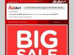 """Airasia BIG SALE - 3,000,000 Seats Available - """"Even Better Than Free Seats""""!"""