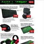 Razer Weekend: Goliathus Mousepad $5 Abyssus Mouse $19 Kraken Headphones $39 and More @ MSY