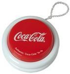Coke Rewards 'Coca-Cola' Branded Authentic Red & White Yo-Yo 50 Tokens