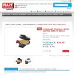 Cuisinart Waffle Maker, $59 Including Delivery @ NAPF Electronics