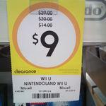 NintendoLand Wii U $9 at Kmart