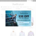 Van Heusen 3 Shirts for $75 'CLICK FRENZY'
