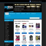 Free Shipping and an Extra 5% Off Everything @ Megaceuticals