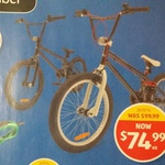 Freestyle BMX for $74.99 @ Aldi