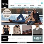 Further 50% OFF Sitewide + Free Shipping at Royal Tag