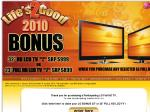 """LG: Bonus 23"""" or 32"""" LCD TV with Purchase of Selected Full HD TV (New Deal for 2010)"""