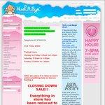 Hushabye (Dandenong, Vic) Final Days Sale - Blankets/Sheets 40% off, Lamps/Mattresses 50% + More