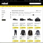 Rebel Sport Sale 30% all Under Armour Clothing (exc. footwear)