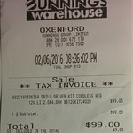 AEG 12V Combo Drill & Impact Drivers, 2 Bat & Charger $99 @ Bunnings Warehouse