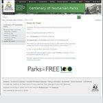 [TAS] Free National Park Entry between 27-29 August & 24 September - 9 October 2016