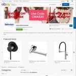 Oliveri Gold Sink $438.40 | Phoenix Sink Mixer Brushed Nickel $345.60 | Phoenix Twin Shower Black $644 @Online Bathroomware eBay