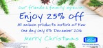 Tassal Kew Store [VIC]: Family & Friends Special - 25% off Salmon, 10% off Everything Else - Thursday 8th December