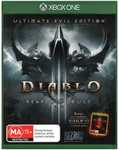 Wolfenstein The New Order Xbox One $7, Diablo 3 Reaper of Souls Ultimate Evil Edition Xbox One $10 @ Big W Instore
