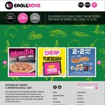 Eagle Boys Pizza Ryde NSW 50% off Everything (Not Valid Online)