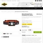 Mountain Designs 20% off All Black Diamond Headlamps - Black Diamond Storm Headlamp $79.95