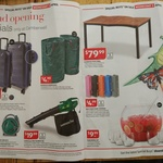 ALDI Camberwell VIC Grand Opening Specials. Electric Blower Vac $19.99. Patio Table $79.99. Plus Others