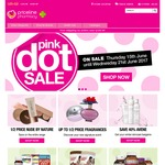 Priceline Pink Dot Sale 1/2 Price Revlon, Nude By Nature, Rapid Loss + More