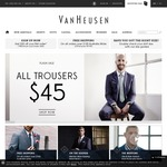 Van Heusen Flash Sale $45 All Trousers