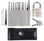 Transparent Practice Padlocks with 12pcs Lock Pick Kit AU $12.15 (US $8.99) Delivered @ Tmart