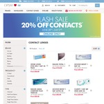 OPSM 20% All Contact Lenses