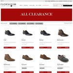 FLORSHEIM - Flashsale on Selected Styles Only for 48 Hour - up to 50% off - Online Offer Only