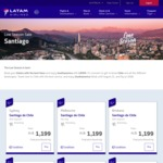 Direct Flights to Santiago, Chile with LATAM from $1,199 Return