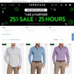 Take a Further 25% off Sale Items at Tarocash for 25 Hours - Online Only