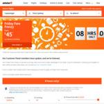 Jetstar Friday Fare Frenzy - Flights from $25 e.g ADL->SYD $55, MEL to AKL $125