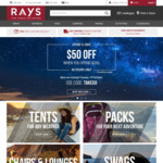 Rays Outdoor Spend $200 Get $50 off Inc. Weber