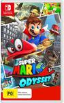 Big W - Super Mario Odyssey $62 (Releases 27/10)