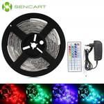 SENCART RGB Strip Light Set  -  EU PLUG  RGB $6.61US (~ $8.62AU) Delivered @ Gearbest