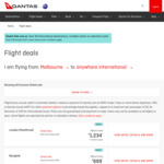 Qantas Global Sale - International Flights - Denpasar from $309 One-Way