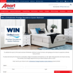 Win an Orthokinetic Prestige Decadence Queen Mattress Worth $3,999 from Super A-Mart
