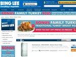 BING LEE - Bonus family TURKEY with any fridge or freezer purchase. WHOA!