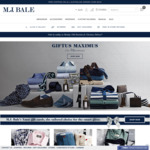 30% off on Full Priced Items @ MJ BALE (Menswear)