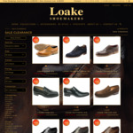 Loakes Shoes - Clearance Sale - Goodyear Welted Full Leather Shoes from $159 + Shipping, Free Shipping over $200