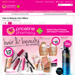 1/2 Price Pantene, Rimmel, Libra, Lux Bodywash 400ml or Palmolive Bodywash 500ml  + More @ Priceline