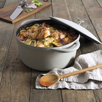[ACT] Tuffcast 21cm Cream Casserole Cast Iron Pot/Dutch Oven $60 (Was $150)