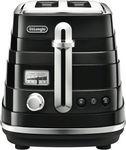 DeLonghi CTA2003BK Avvolta 2 Slice Toaster + Any $2 Item $68.40 Click & Collect @ The Good Guys eBay