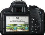 Canon 800DKIS 800D Single Lens Kit (18-55mm) $763.20 ( Was $1144)  @ eBay The Good Guys