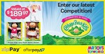 Win a Cabbage Patch Kids Prize Pack Worth $189.97 from Mr Toys Toyworld